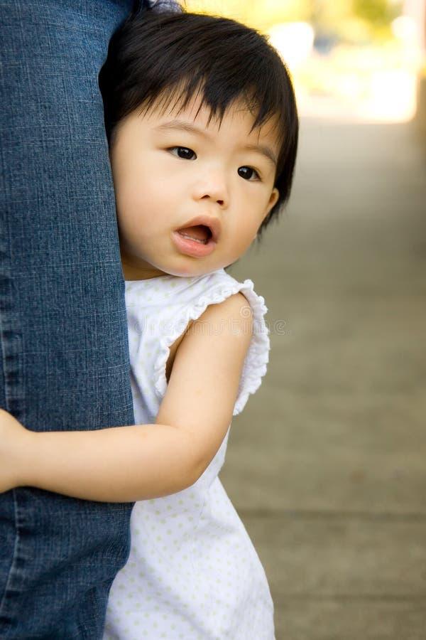 Bambino asiatico del bambino fotografia stock libera da diritti