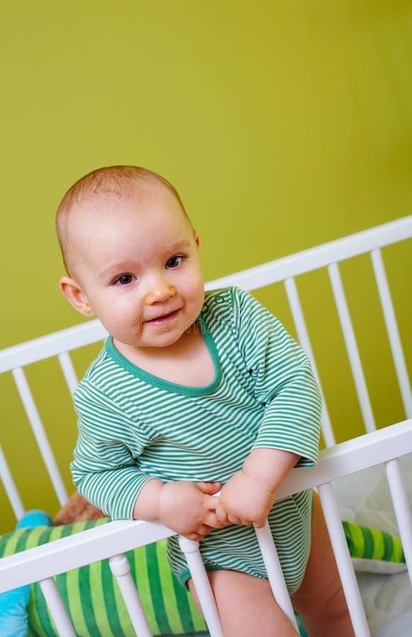 Bambino in castella fotografie stock libere da diritti