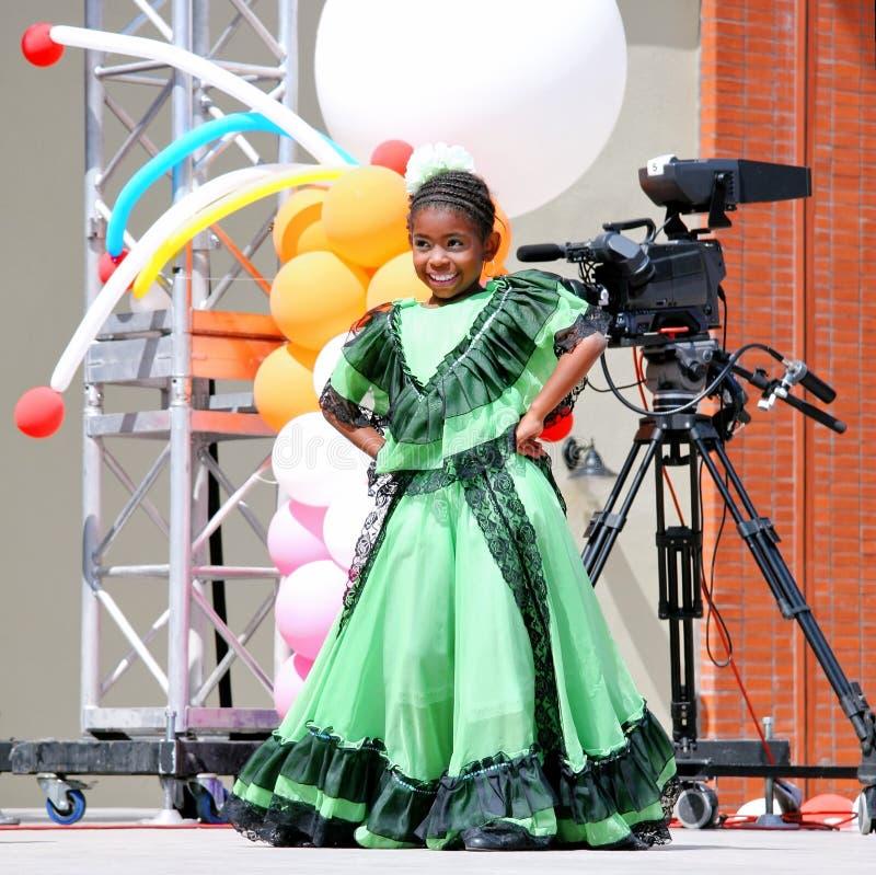 Bambino colombiano fotografia stock libera da diritti