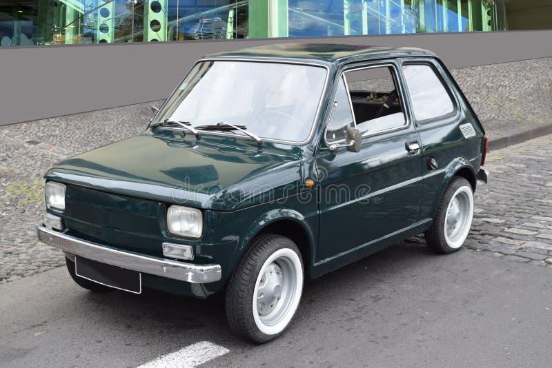 Bambino de Fiat - un coche clásico fotografía de archivo