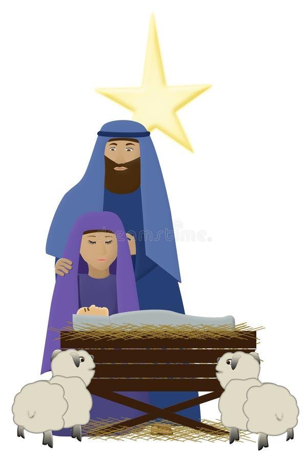 Bambino del Christ royalty illustrazione gratis