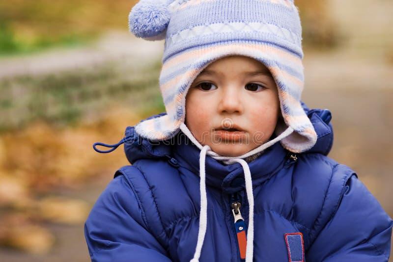 Bambino del Drool fotografie stock