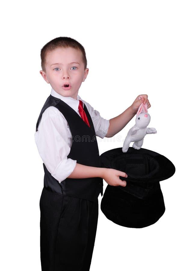 Bambino del mago fotografia stock libera da diritti
