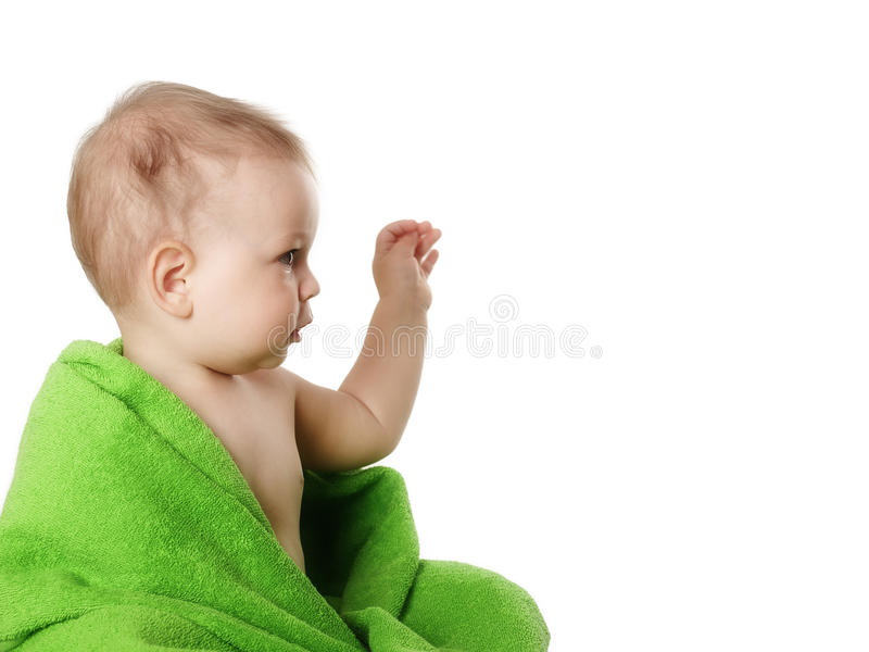 Bambino del ritratto dello studio fotografie stock libere da diritti