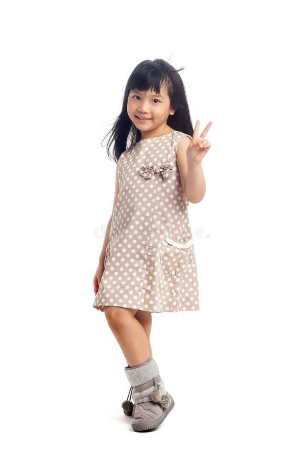 Bambino dell'asiatico di modo fotografie stock libere da diritti