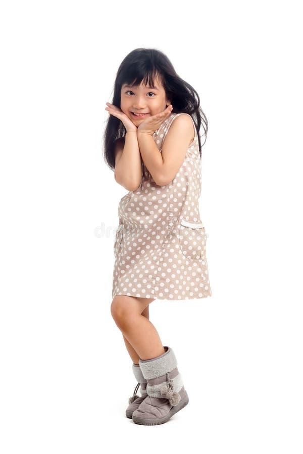 Bambino dell'asiatico di modo fotografia stock libera da diritti