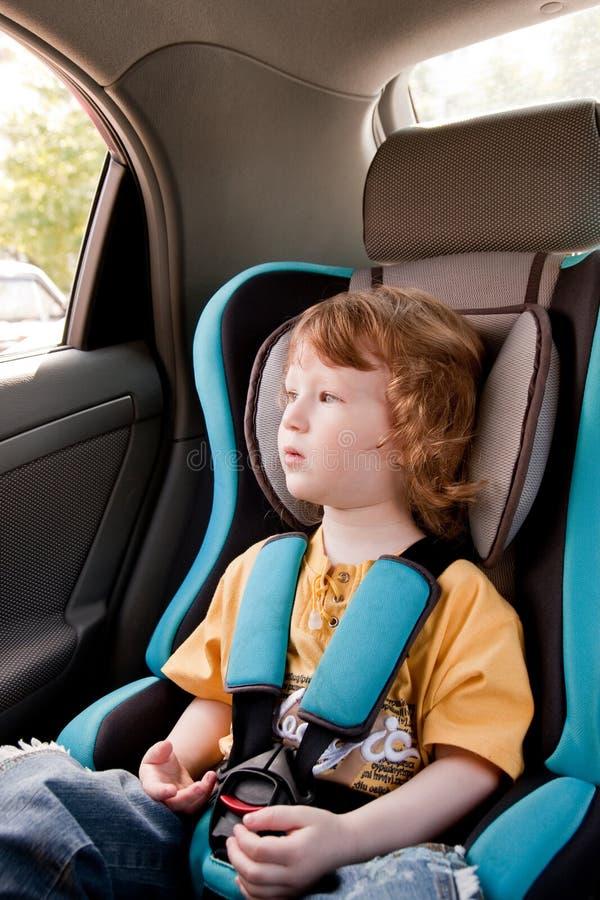 bambino dell'automobile fotografia stock libera da diritti