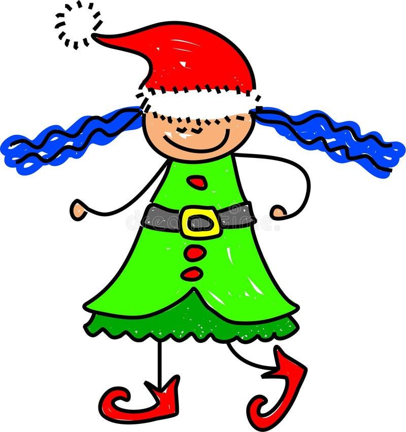 Bambino dell'elfo royalty illustrazione gratis