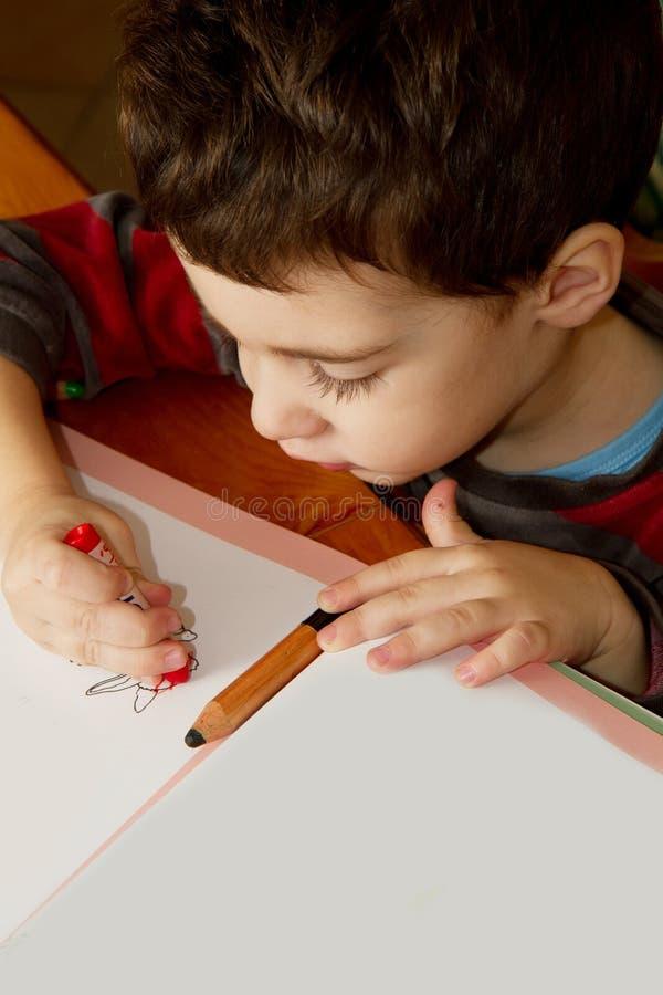 Bambino dell'illustrazione immagine stock libera da diritti