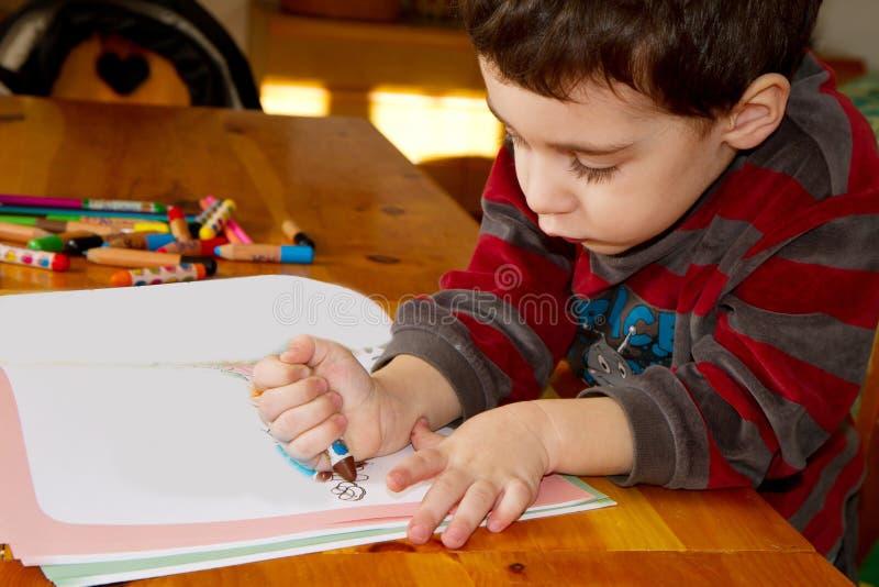 Bambino dell'illustrazione fotografia stock