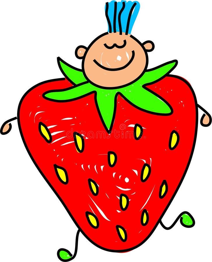 Bambino della frutta illustrazione vettoriale