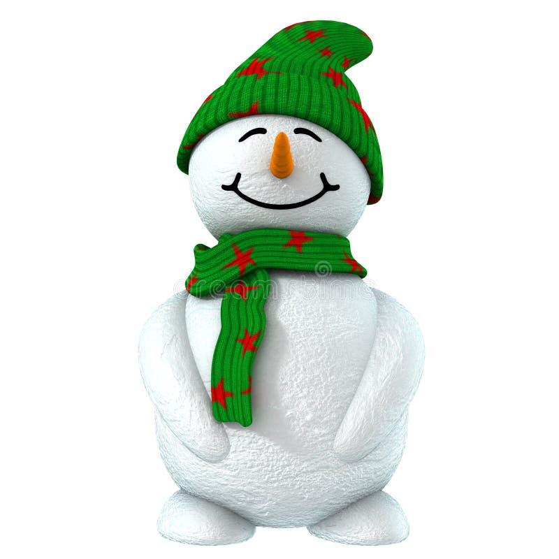 bambino della neve 3d royalty illustrazione gratis