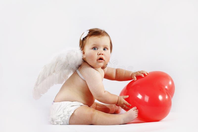 Bambino di angelo fotografia stock libera da diritti