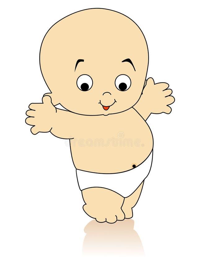 Bambino di Dancing illustrazione vettoriale