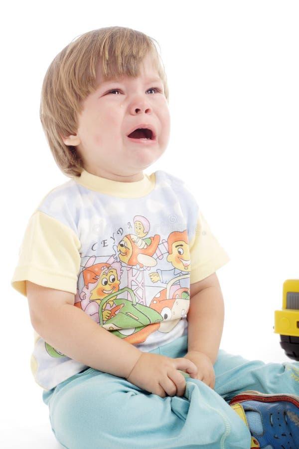 Bambino di espressione fotografie stock libere da diritti