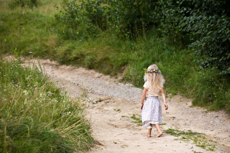 Bambino di estate immagini stock libere da diritti