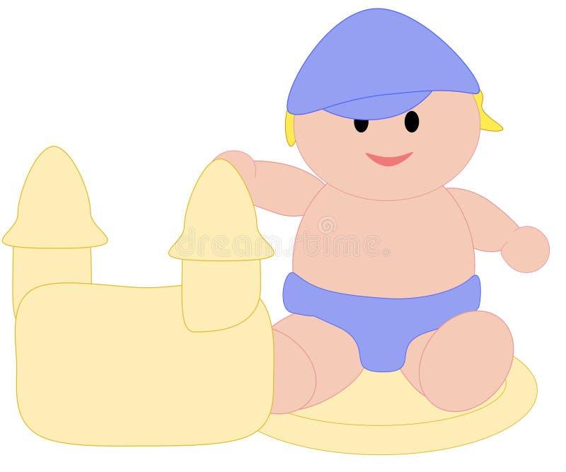 Bambino di estate royalty illustrazione gratis