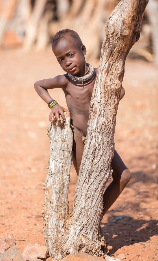 Bambino di Himba fotografie stock libere da diritti