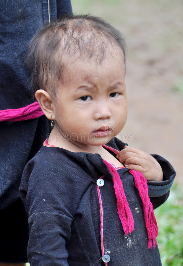 Bambino di Lantaen immagine stock libera da diritti