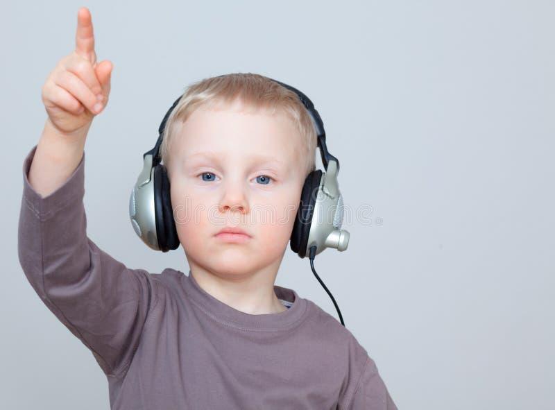 Bambino di musica fotografia stock libera da diritti