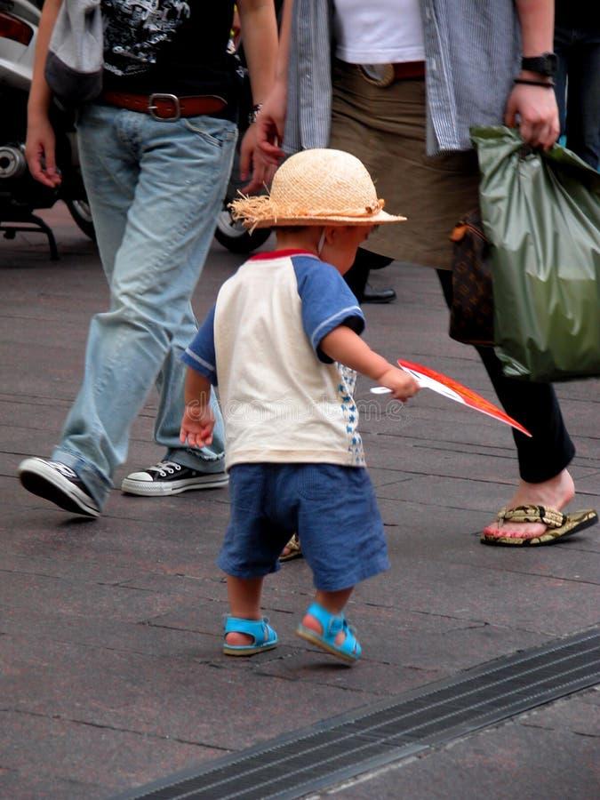 Bambino Divertente Fotografie Stock Libere da Diritti