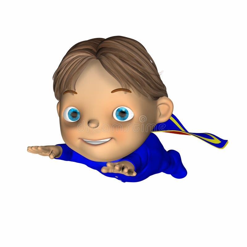 Bambino - eroe eccellente 3 illustrazione vettoriale