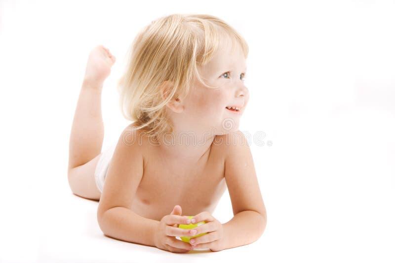 Bambino felice immagine stock
