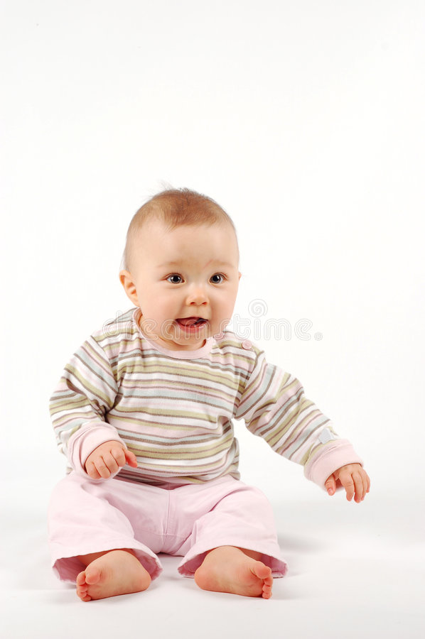 Bambino felice #25 fotografie stock