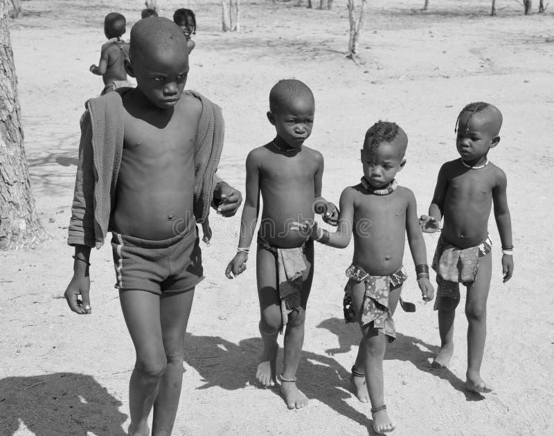 Bambino Himba fotografia stock