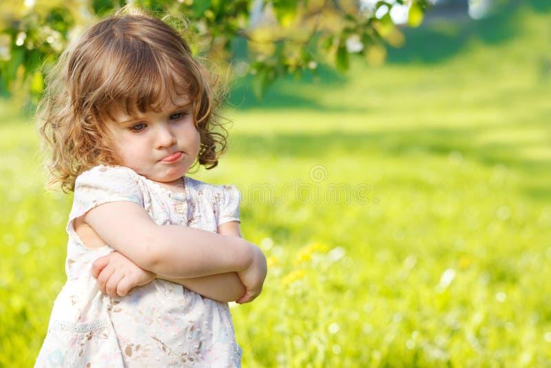 Bambino infelice fotografia stock libera da diritti