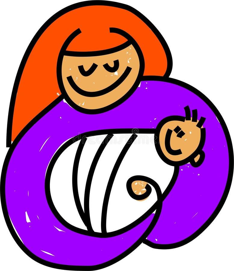 Bambino Jesus illustrazione di stock