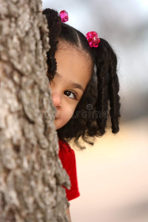Bambino Multiracial immagine stock