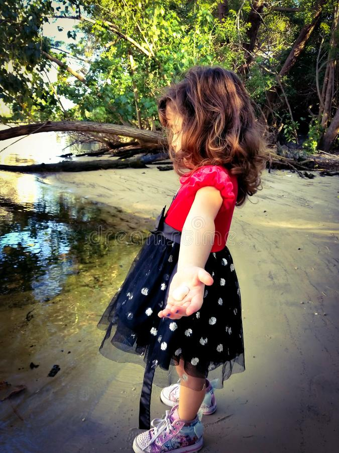 Bambino, natura immagine stock libera da diritti