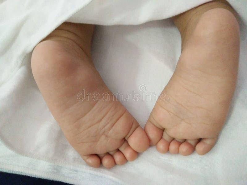 Bambino piccoli piedi immagini stock libere da diritti