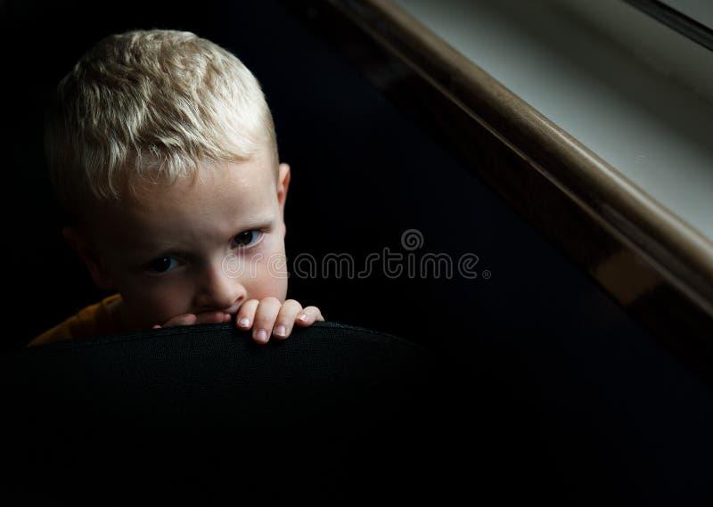 Bambino preoccupato immagine stock libera da diritti