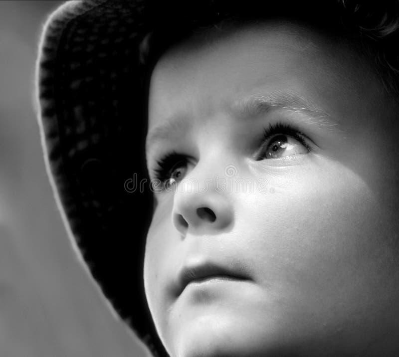 Bambino promettente fotografia stock libera da diritti