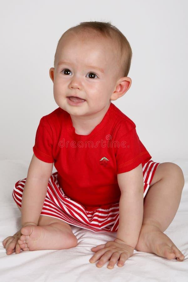 Bambino in su fotografia stock libera da diritti