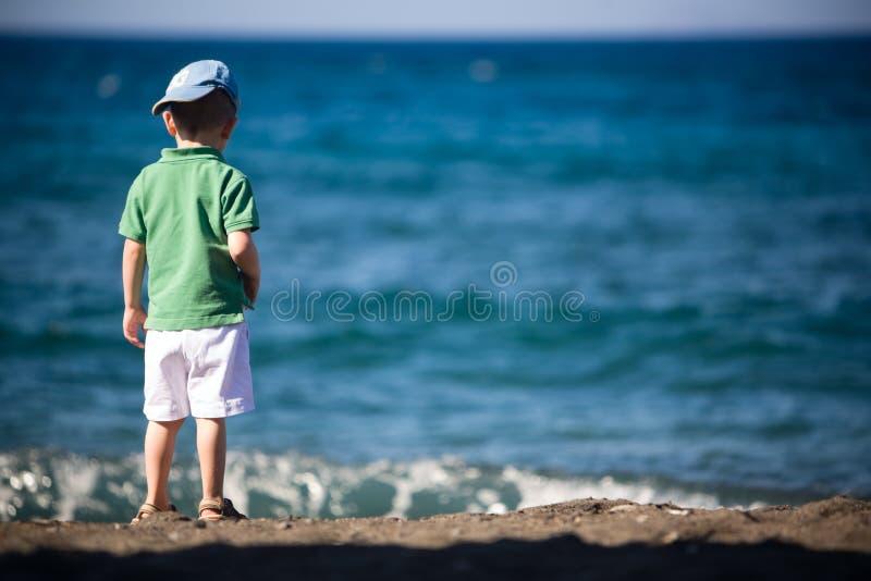 Bambino sulla vacanza immagini stock