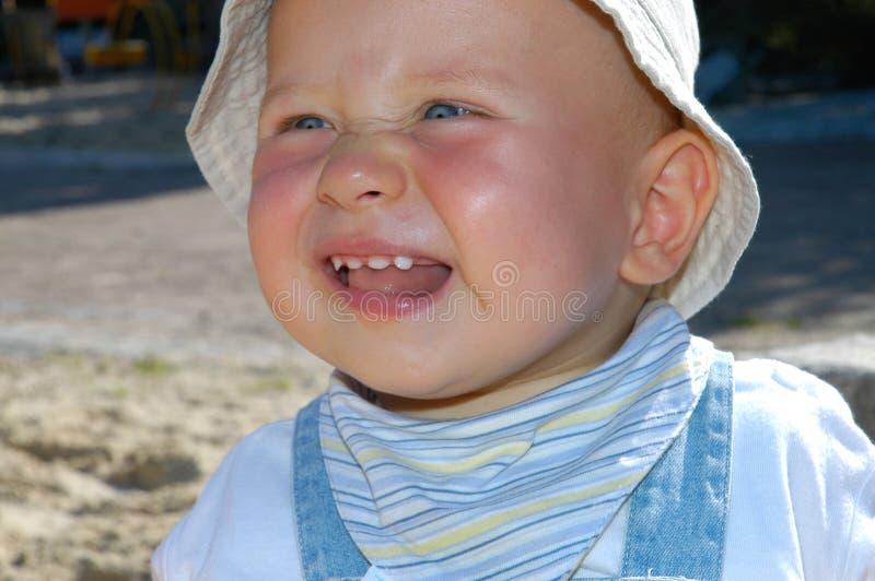 Download Bambino sveglio fotografia stock. Immagine di grin, famiglie - 220118
