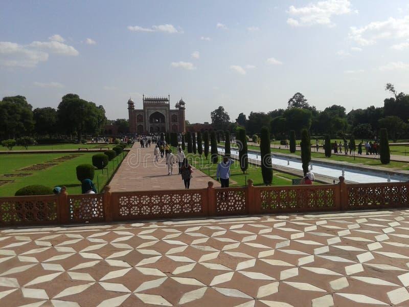 Bambino Taj Mahal immagine stock libera da diritti