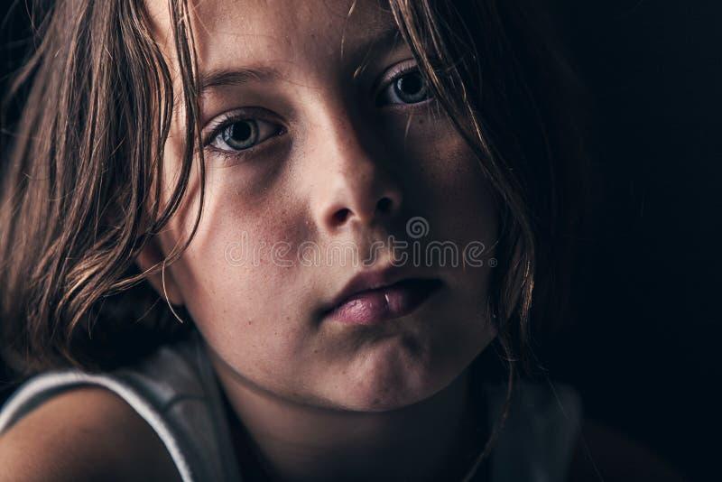 Bambino triste immagini stock libere da diritti