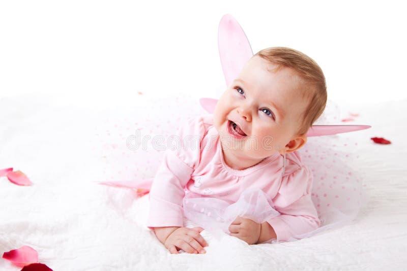 Bambino in un'attrezzatura leggiadramente fotografia stock libera da diritti