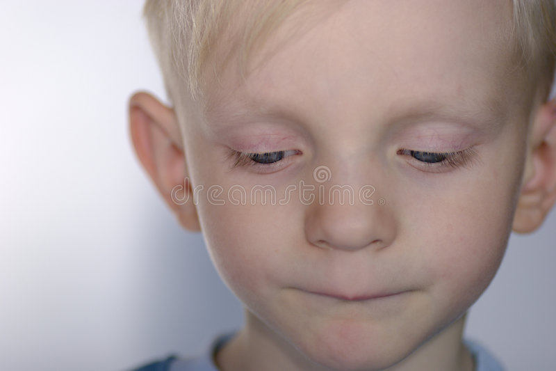 Bambino Upset immagini stock libere da diritti