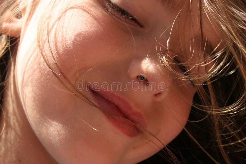 Bambino vago fotografie stock libere da diritti