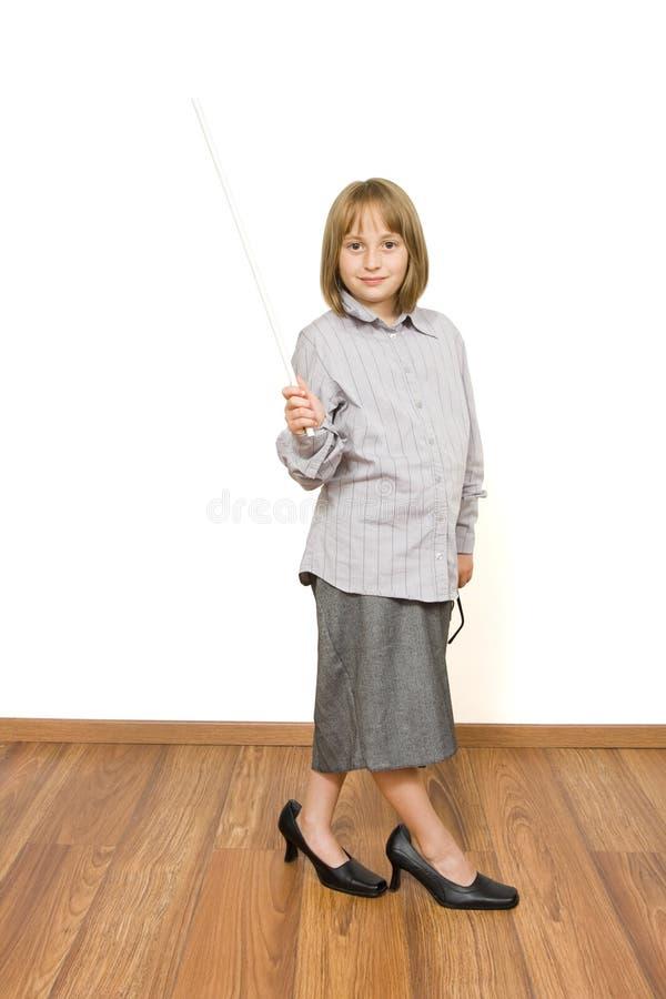 Bambino vestito da s nell'adulto ' immagini stock libere da diritti