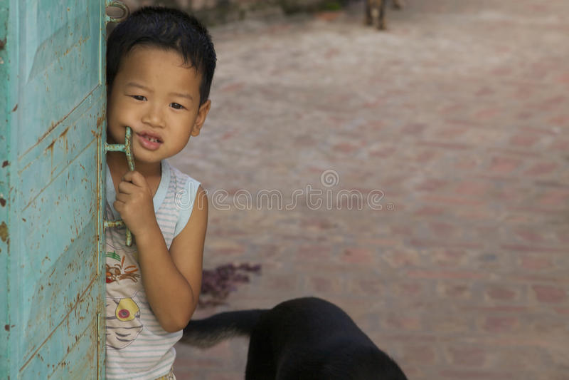 Bambino vietnamita fotografia stock libera da diritti