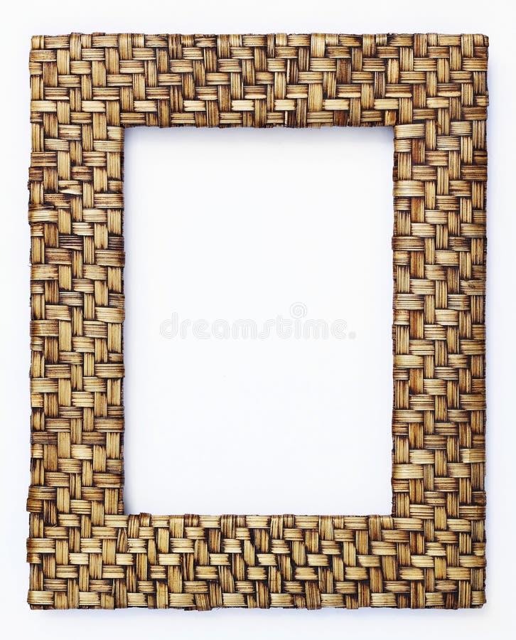 Bambo weave frame