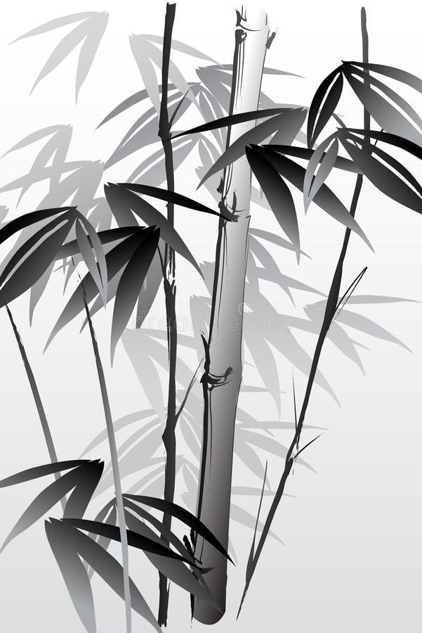 Bamboe 05 royalty-vrije illustratie