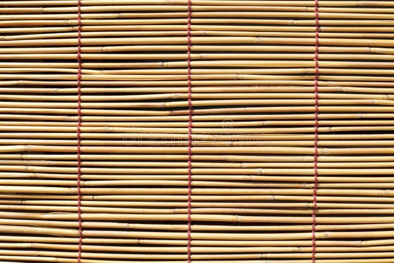 Bamboegordijn stock foto's