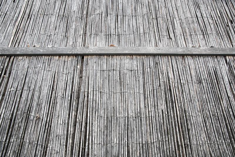 bamboestro Achtergrond textuur stock afbeelding